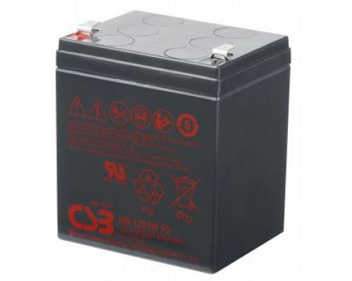 Аккумуляторная батарея CSB HR 1221W F2 (12V / 21W, 5 Ah)