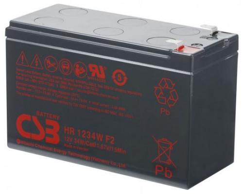 Аккумуляторная батарея CSB HR 1234W F2 (12V / 34W)