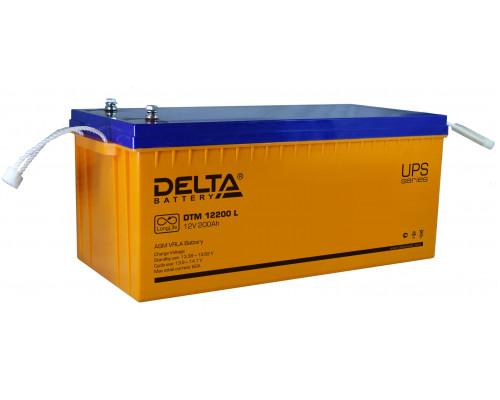 Аккумуляторная батарея Delta DTM 12200 L (12V / 200Ah)