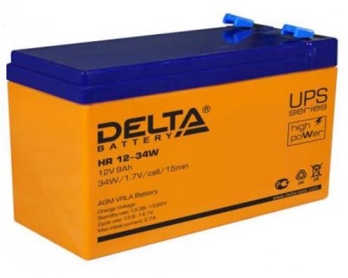 Аккумуляторная батарея Delta HR 12-34 W (12V / 34W)