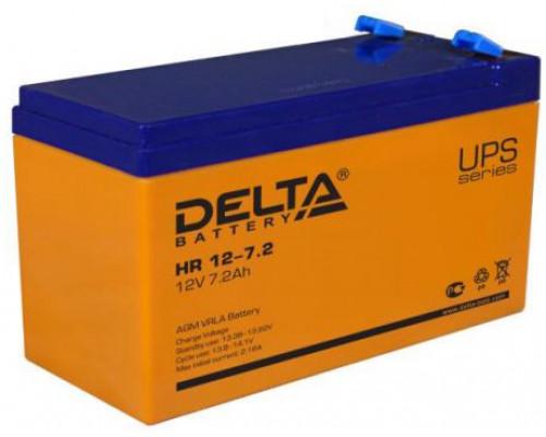 Аккумуляторная батарея Delta HR 12-7.2 (12V / 7.2Ah)