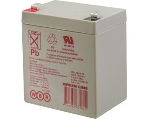 Аккумуляторная батарея WBR HR 1221W F2 (12V / 21W, 5 Ah)