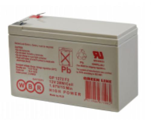 Аккумуляторная батарея WBR GP 1272 F2 (12V / 28W)